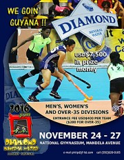 12th annual Diamond Mineral Water Hockey Festival in Guyana