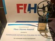 Peru received Theo Ykema Award from FIH