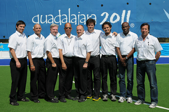 2011 Pan American Games (men) - Technical Officials