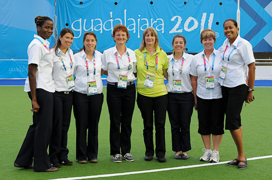 2011 Pan American Games (women) - Technical Officials