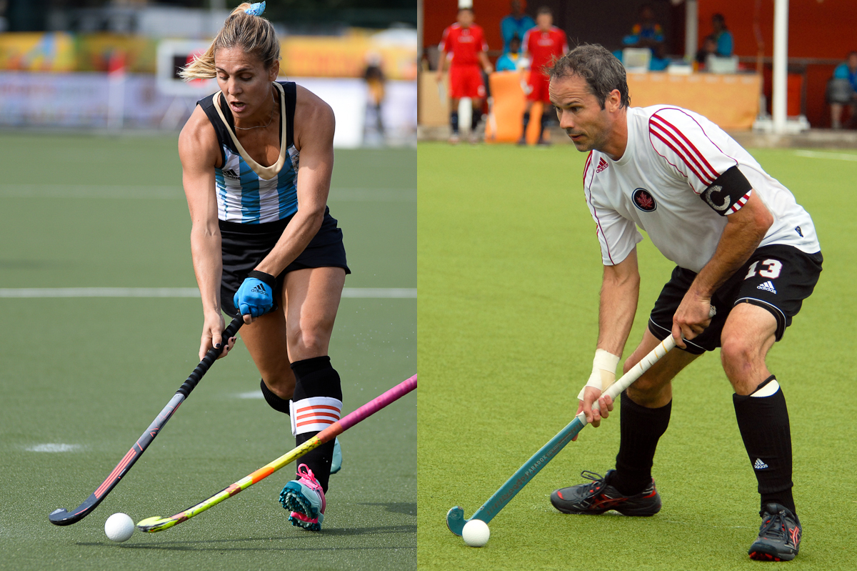 Macarena Rodriguez (ARG) y Rob Short (CAN)