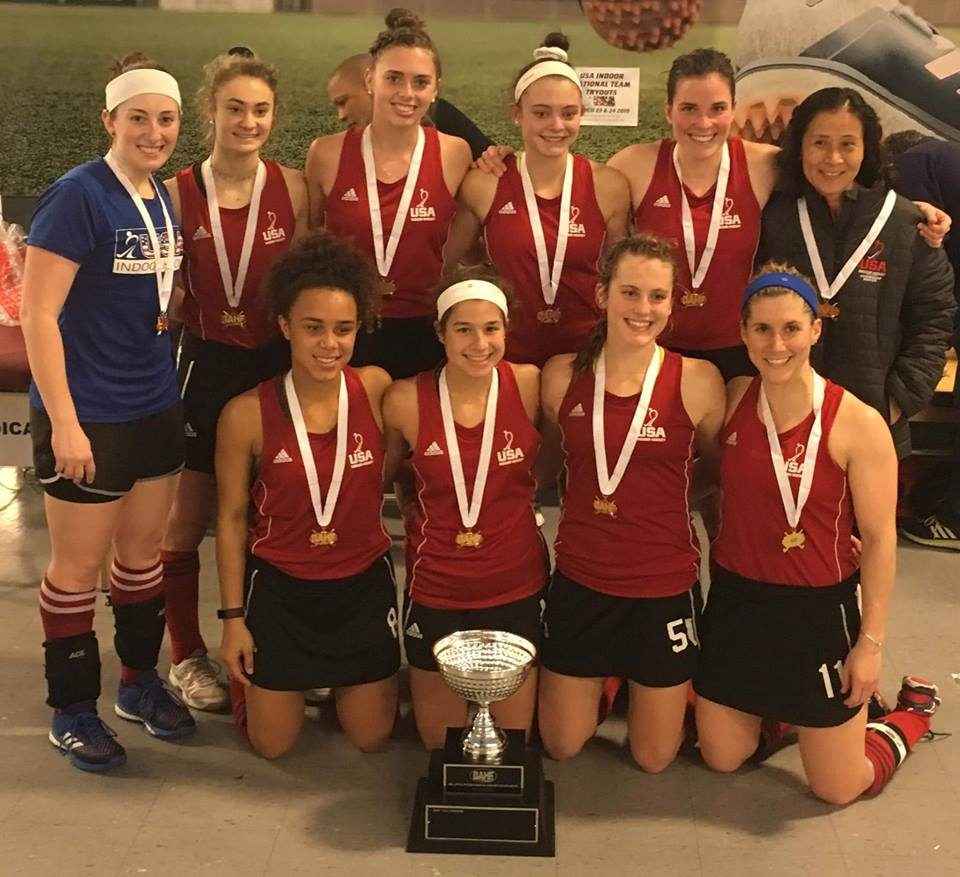 Big Apple International Indoor Championship 2019 - USA National Team - women winners