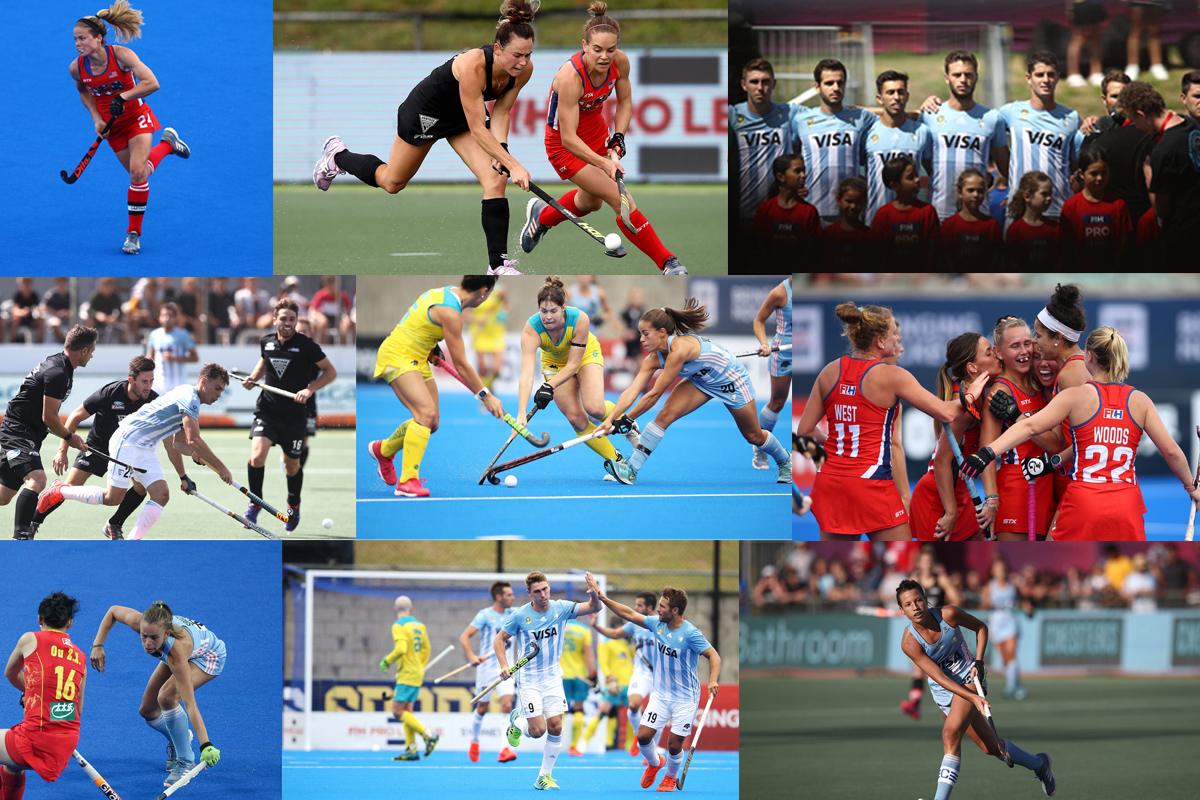 FIH Pro League action