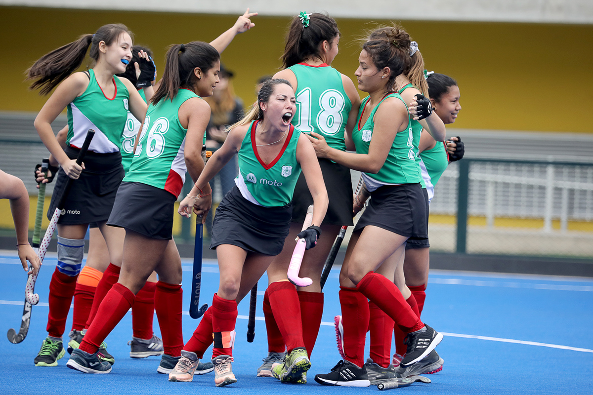 Lima Cricket keeps Women's National Hockey Championship Trophy